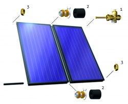 Соединительный комплект для солнечных коллекторов