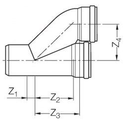 Отвод параллельный Rehau Raupiano Plus