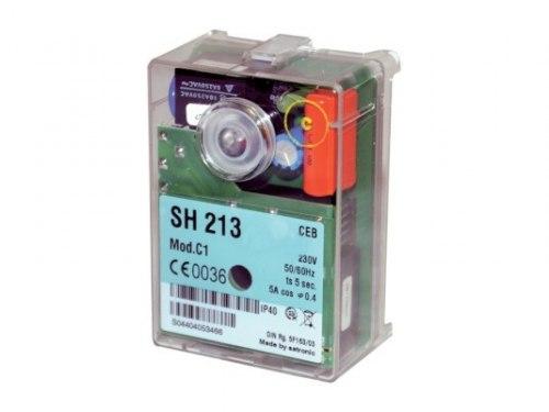 Топочный автомат (автомат горения) Honeywell Satronic SH 213