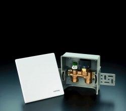 Регулирование температуры теплого пола 1 Oventrop Unibox