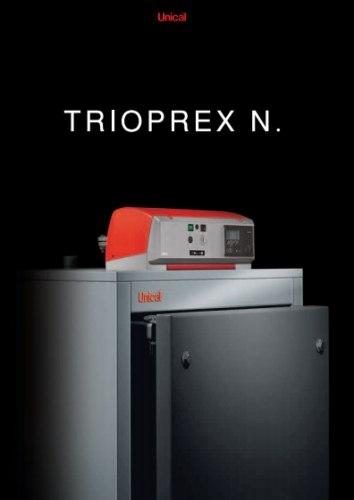 Водогрейный котел Unical Серия TRIOPREX N мощность 65-1900 кВт