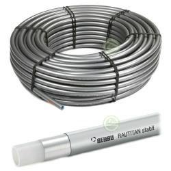 Труба с Al слоем Rehau RAUTITAN stabil (отопление + вода)