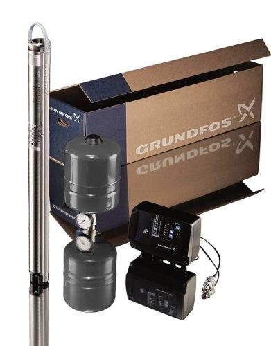 Насос Grundfos SQE 3-65 комплект