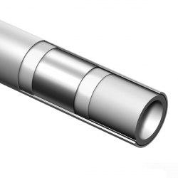 Труба МП с Al слоем TECEflex PE-Xc/Al/PE (отопление+вода)