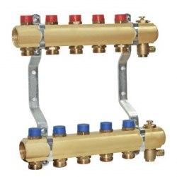 Коллектор для систем отопления с запорными вентилями в сборе TECE