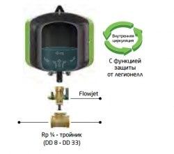 Проточно-запорная арматура Reflex Flowjet со сливом