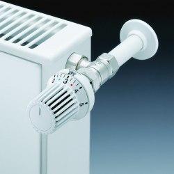 Термостатическая головка белая Oventrop Uni XH