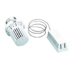 Термостат Oventrop Uni XH 7-28 C, 0 * 1-5, с дист. датчиком 5м, белый