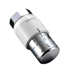 Термостат Oventrop Uni SH диапазон настройки 7-28 C, шкала 0 * 1-5, жидкост. чувств. эл-т, цвет белый