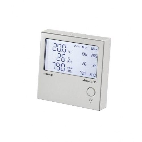 Прибор-индикатор климата в помещении Oventrop i-Tronic с блоком питания для скрытого монтажа