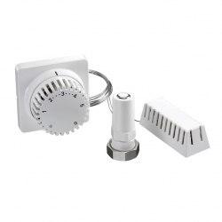Термостат с дистанционной настройкой и дистанционным датчиком Oventrop Uni FH 7-28 C, 0 * 1-5, с дист.настройкой и доп.дист.датчиком, 5м