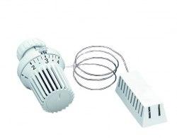 Термостат Oventrop Uni XD 7-28 C, 0 * 1-5, с дист. датчиком 2м, белый