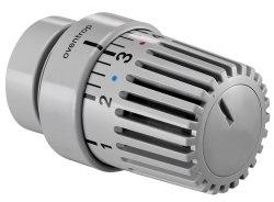 Термостатическая головка серая RAL 7004 Oventrop Uni LD