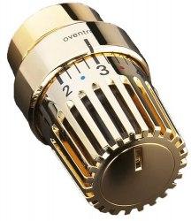 Термостатическая головка позолоченный цвет Oventrop Uni LD