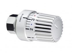 Термостат Oventrop Uni L 7-28 C, 0 * 1-5, жидкост. чувств. элемент,белый