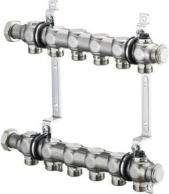 """Гребенка на 5 контуров для отопительных приборов Oventrop Multidis SH 1"""""""
