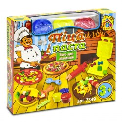 "Тесто для лепки FUN GAME ""Піца і паста"" 7349 FUN GAME"
