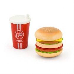 """Игровой набор """"Гамбургер и кола"""" Viga Toys 51602"""