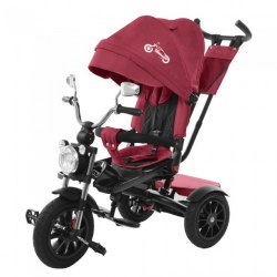Велосипед трехколесный Красный Tilly TORNADO Т-383