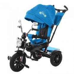 Велосипед трехколесный Синий Tilly TORNADO T-383