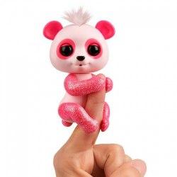 Интерактивная ручная панда Полли (розовая), Fingerlings WowWee W3560/3561