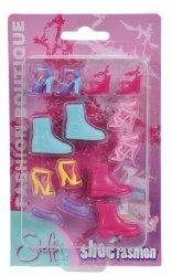 Набор обуви для Штеффи с сиреневыми балетками Steffi & Evi Love 466 0832-2
