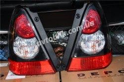 Задний фонарь левый на Subaru Forester (2006-2008) черный