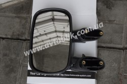 Зеркало левое на Fiat Doblo (2001-2009) ручное