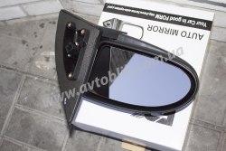 Зеркало левое на Hyundai Accent (2006-2010) электро, черное