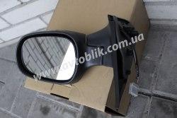 Зеркало левое на Nissan Micra (2003-2010) черное