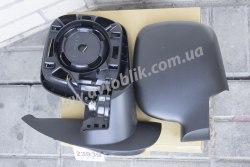 Зеркало правое на Renault Kangoo (2009-2013) электро, черное