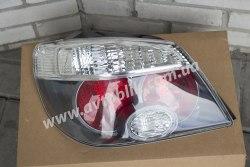 Задний фонарь левый на Mitsubishi Outlander I (2005-2009) прозрачный