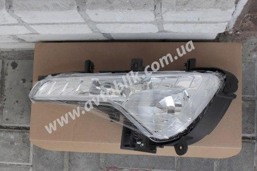 Противотуманная фара левая на Kia Sportage (2010-2015) 2 лампочки