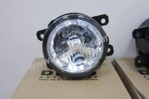 Противотуманная фара левая на Mitsubishi ASX (2010-2013) 2 лампочки