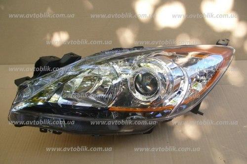 Фара передняя правая на Mazda 3 BL (2009-2012)
