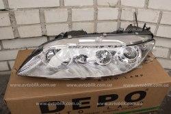 Фара передняя левая на Mazda 6 (2002-2008) 2 лампочки