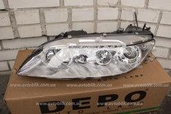 Фара передняя левая на Mazda 6 (2002-2008) 3 лампочки