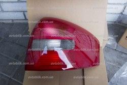 Задний фонарь левый на Audi A6 C5 (1997-2005) красно-дымчатый