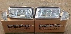 Фара передняя правая на Skoda Octavia Tour (2000-2010) 1 лампочка