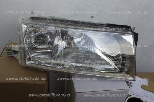 Фара передняя левая на Skoda Octavia Tour (2000-2010) 2 лампочки