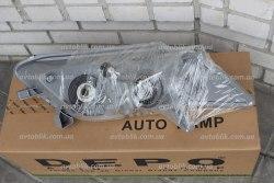 Фара передняя правая на Toyota Camry 40 (2006-2010) EUR белая вставка