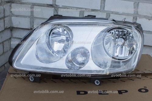 Фара передняя левая на Volkswagen Caddy (2004-2010)
