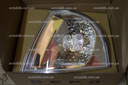 Указатель поворота левый на Skoda Octavia Tour (2000-2010)