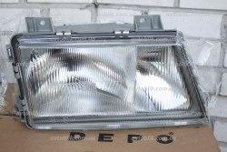 Фара передняя левая на Mercedes Sprinter (1995-2000) на 3 лампочки
