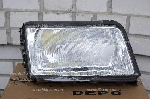 Фара передняя правая на Audi 100 (1991-1994)