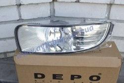 Противотуманная фара левая на Skoda Superb (2009-2013) 1 лампочка