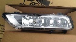 Противотуманная фара левая на Volkswagen Passat B7 EUR (2011-2015) 2 лампочки