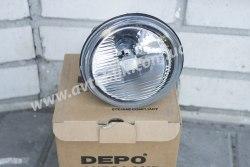 Противотуманная фара левая на Renault Master (1998-2007) Depo