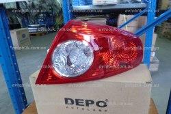 Задний фонарь левый на Chevrolet Lacetti хетчбэк (2003-2013) Depo