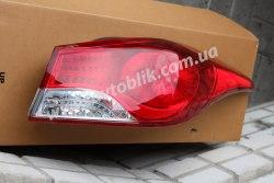 Задний фонарь левый на Hyundai Elantra (2011-2014) MD
